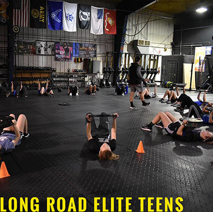 Crossfit Training Group for Teens